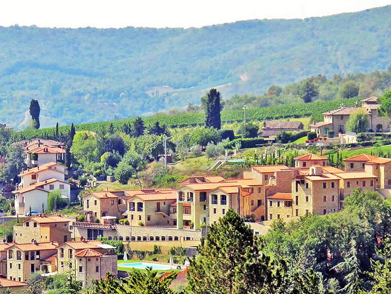 Casa Chianti 7, 2 BDR, Borgo di Gaiole, Chianti, Tuscany ...