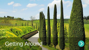 Getting around Borgo di Gaiole