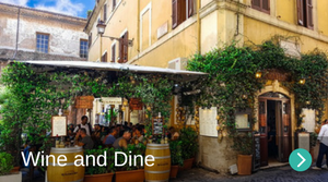 Wine and dine in Marco Simone