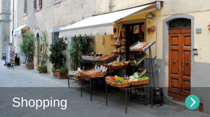 Shopping in Borgo di Gaiole